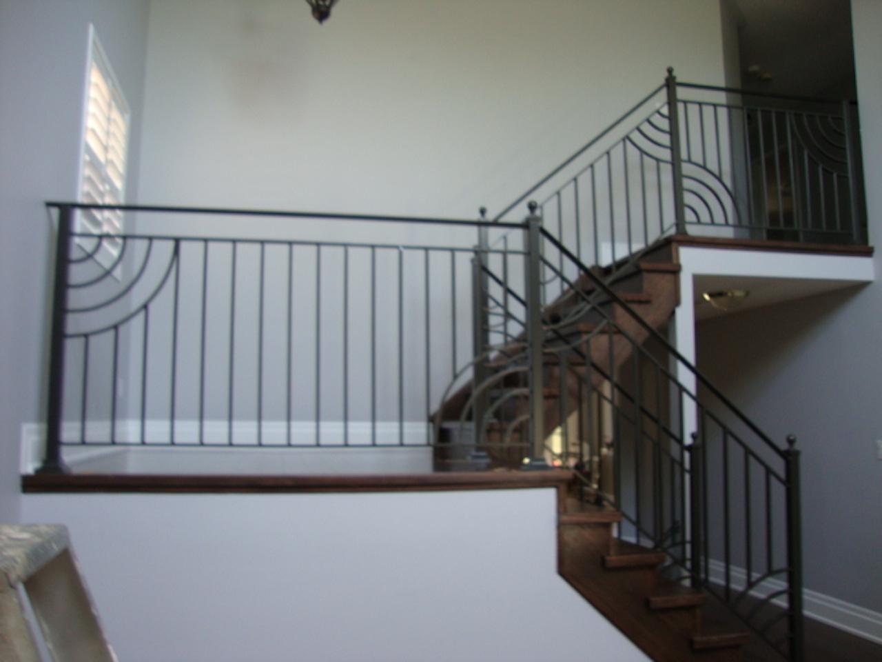 Interior Railings Authentic Ironworks